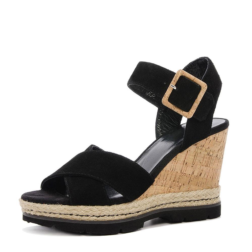 SPM lambo sandalen zwart